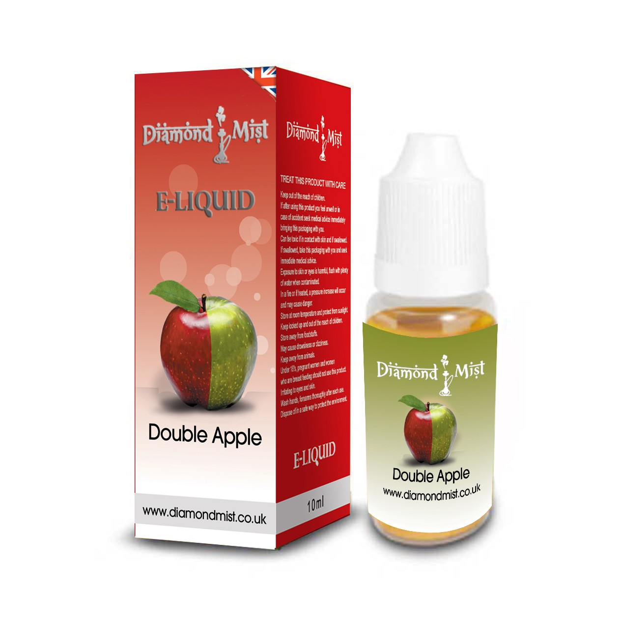 DOUBLE APPLE Diamond Mist 10ml