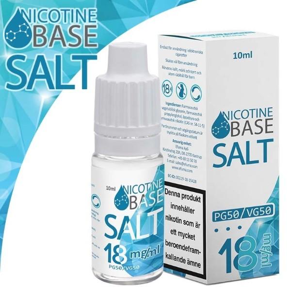 base sal de nicotina nicokit 18 mg