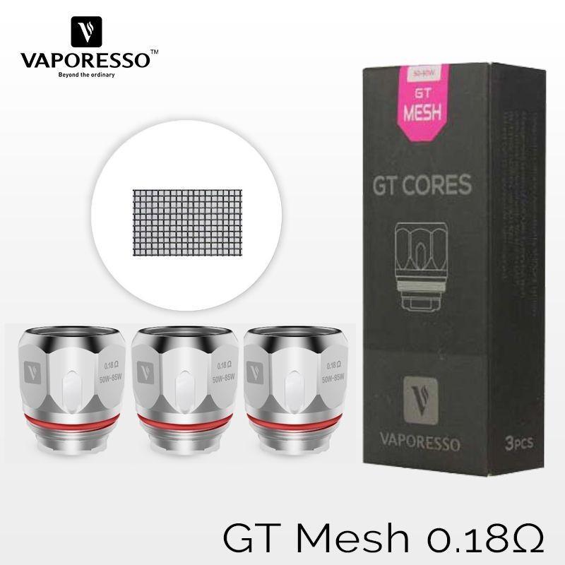 GT MESH 0.18ohm COIL VAPORESSO