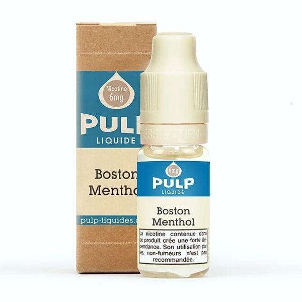 Pulp Boston Mentol 10ml E-liquid