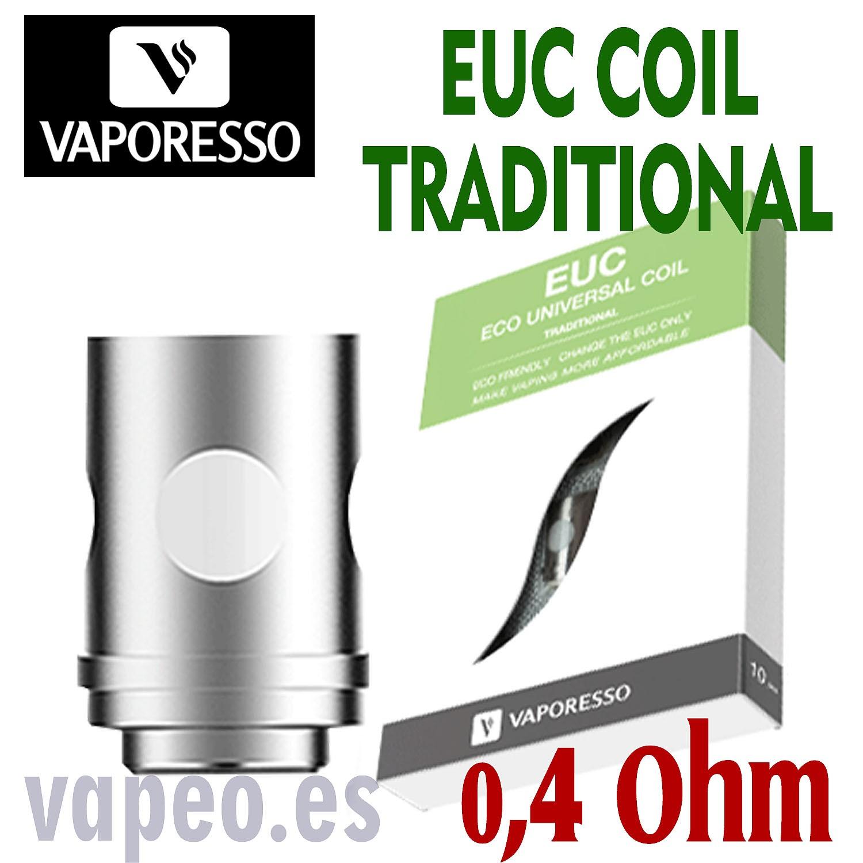 EUC 0,4 oh TRADITIONAL VAPORESSO COIL