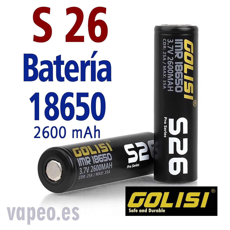 BATERÍA GOLISI S26 18650