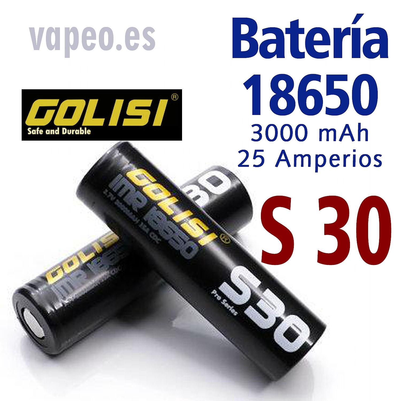 BATERÍA GOLISI S30 18650