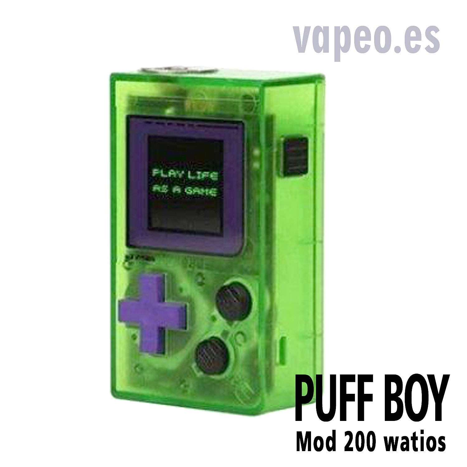 MOD BOX PUFF BOY 200W WIZ VAPOR