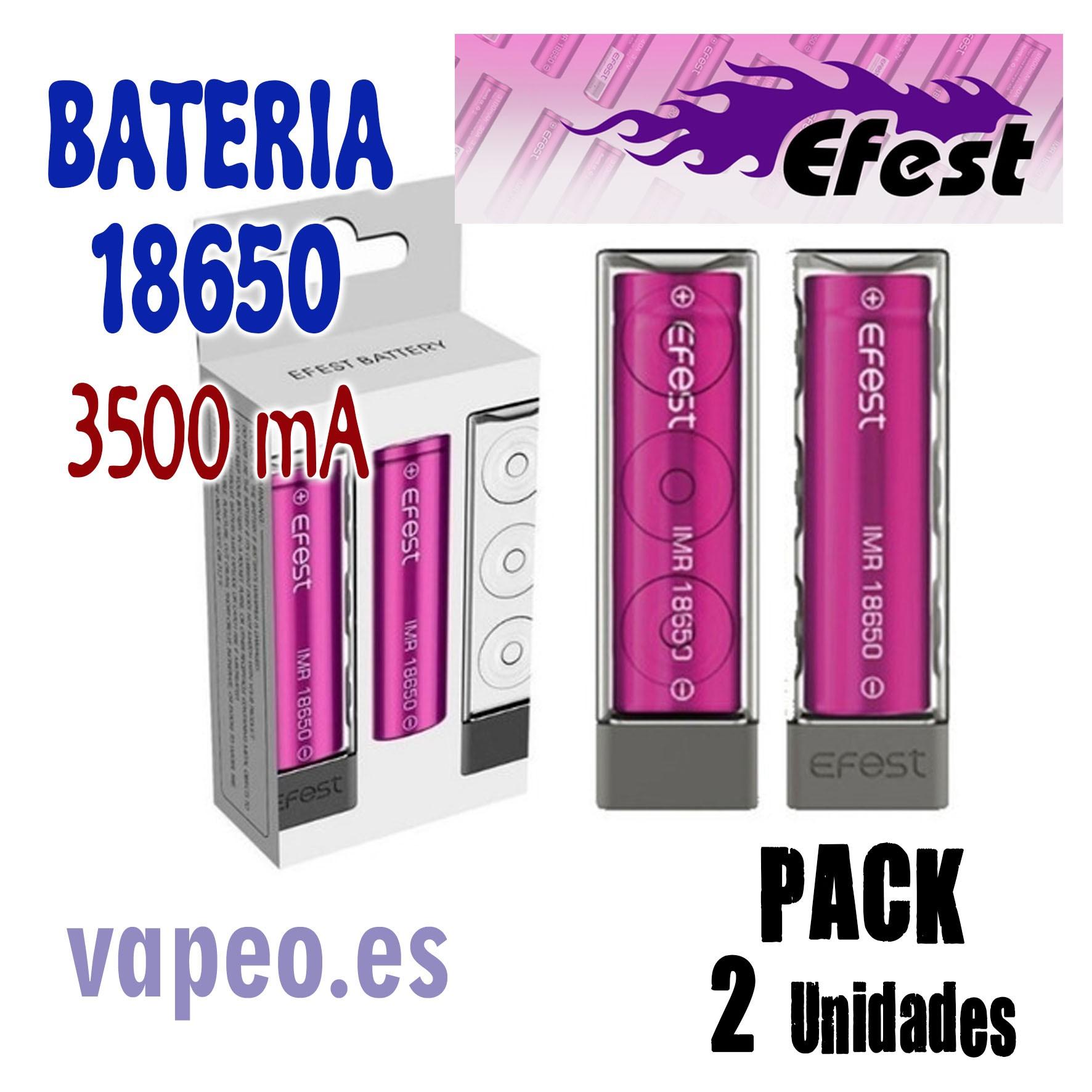 EFEST 18650 bateria 3500MA PACK