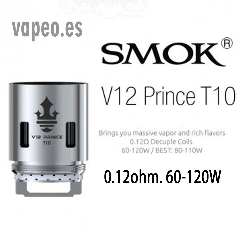 COIL V12 PRINCE T 10 SMOK