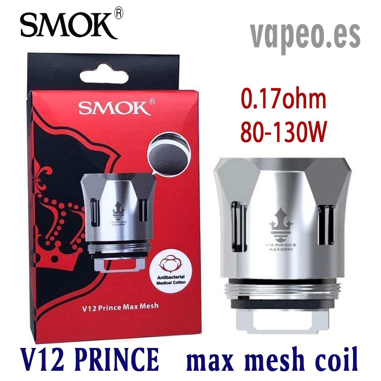 COIL V12 PRINCE TANK MAX MESH 0.17OHM SMOK