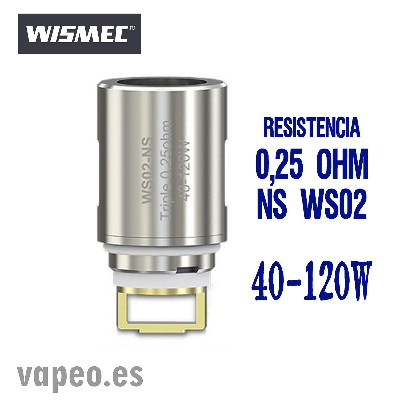 NS WS02 WISMEC TRIPLE COIL 0,25