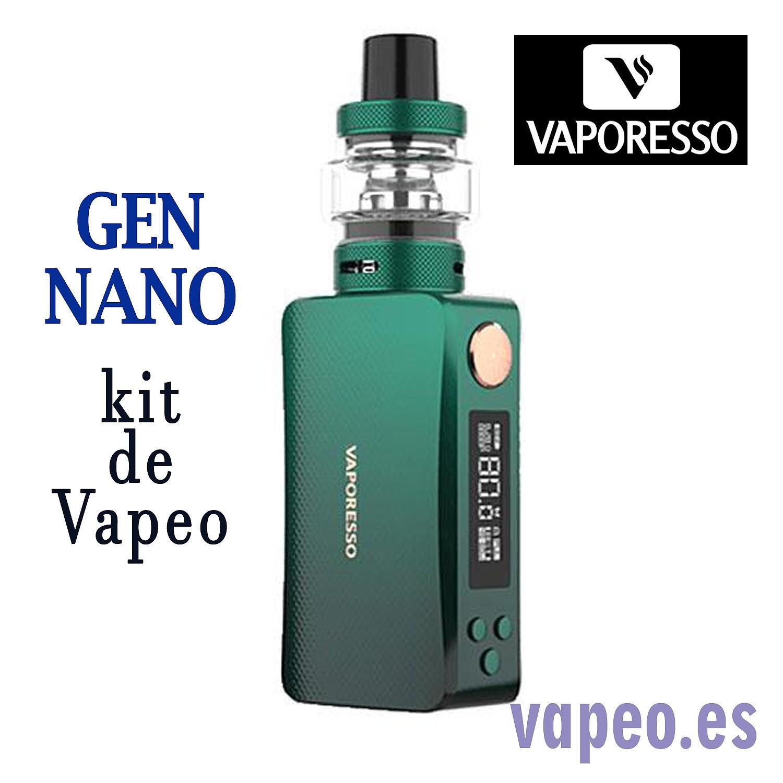 GEN NANO+GTX TANK  KIT VAPORESSO