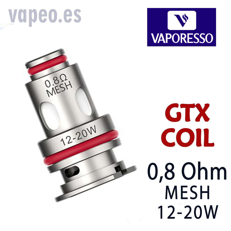 GTX Mesh 0,8  COIL  VAPORESSO (Unidad)