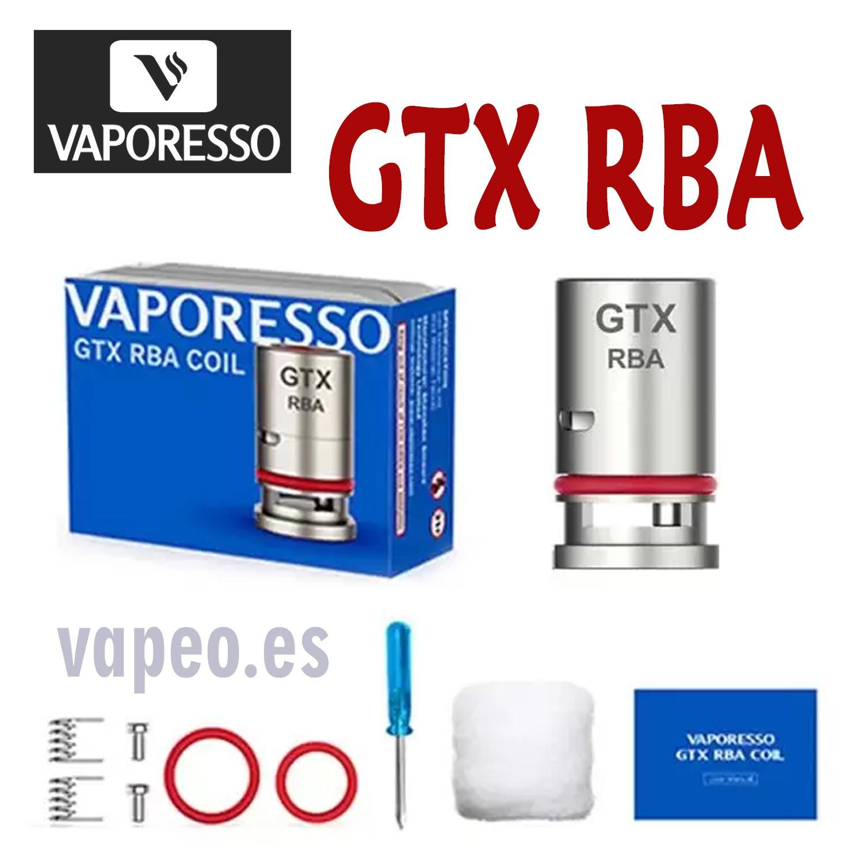 GTX RBA COIL VAPORESSO