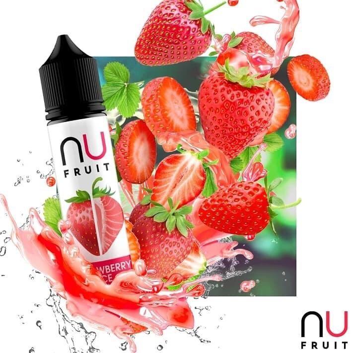 fresa ICE 50ML NU FRUIT ELIQUID