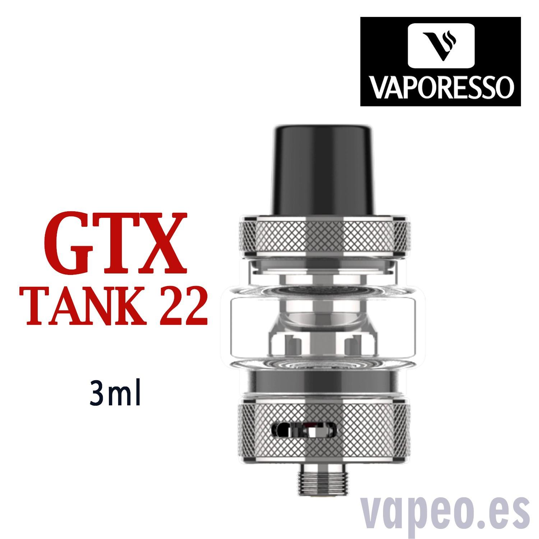 GTX TANK 22 3.5 ML SILVER VAPORESSO